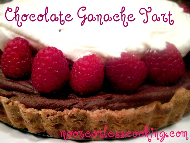 Chocolate Ganache Tart | **Moore or less Cooking of Maine** | Pintere ...