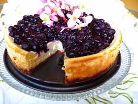 SPLENDID LOW-CARBING BY JENNIFER ELOFF: BLUEBERRY CHEESECAKE