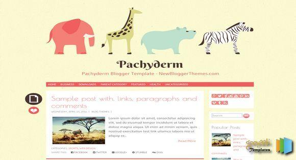 Pachyderm Anime Blogger Template blogger templates free blogger templates. Blogger free templates, 2014 blogger templates seo blogger themes free 2014