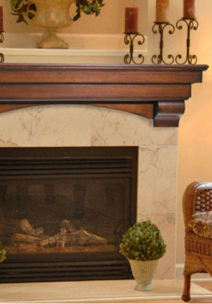 The Auburn Fireplace Mantel Shelf will add a unique, handcrafted look to your family room or living room this fall. Display photos, clocks, or autumn-inspired decor to warm up your home during the holiday months.