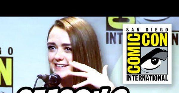 Game Of Thrones Season 6 Comic Con 2015 Panel - Part 1