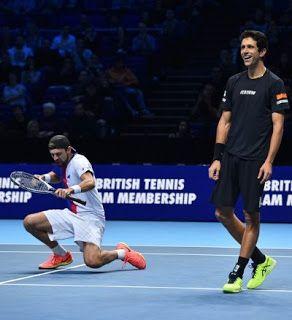 Blog Esportivo do Suíço:  Melo e Kubot vencem na estreia do ATP Finals, e brasileiro fecha ano em 1º nas duplas