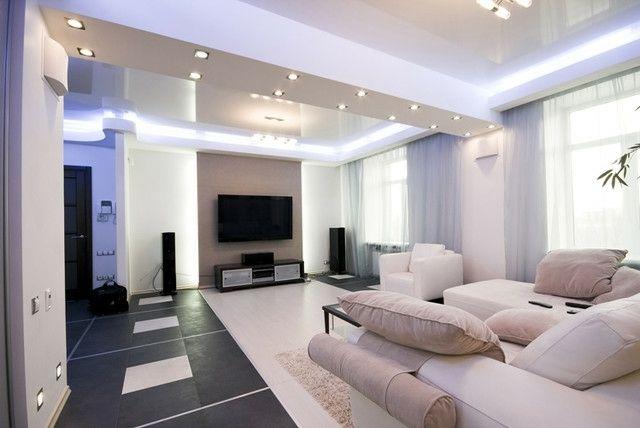 wohnzimmer einrichten led indirekte beleuchtung montieren | living ... - Beleuchtung Wohnzimmer Led