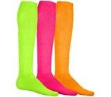 Volleyball Neon Knee High Socks