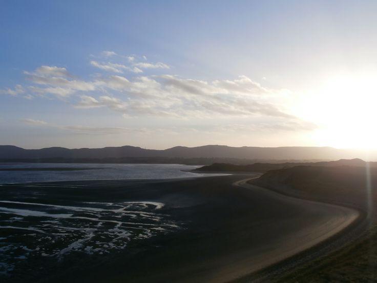 beach, sun, scenery, Sligo