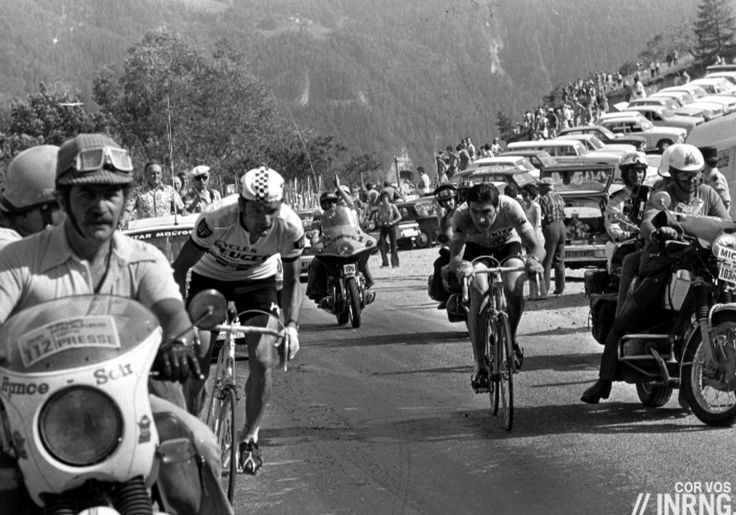 Pra-Loup; In 1975 Merckx, in the yellow jersey, dropped his rivals on the penultimate climb of the Col d'Allos with a late attack and after a fast descent he reached the foot of the climb to Pra-Loup a minute ahead of his rivals.  Felice Gimondi went by and then Thévenet rode past, eventually putting three minutes into him. Thévenet won again the next day and took the Tour de France. To this day Thévenet is Le Tombeur de Merckx, The Man Who Brought Down Merckx and it happened on Pra-Loup.