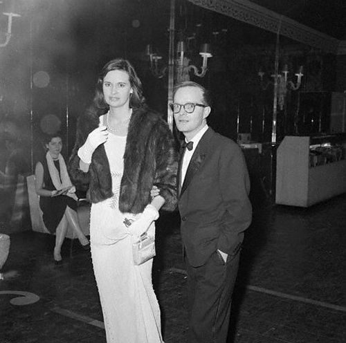 Gloria Vanderbilt and Truman Capote, 1960s