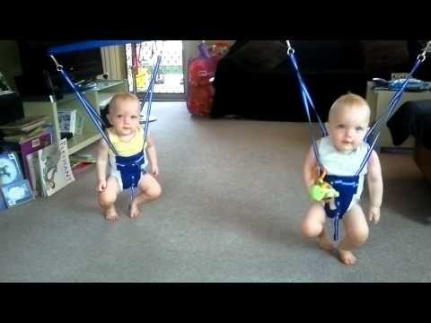 Baby Twins Love Johnny Cash