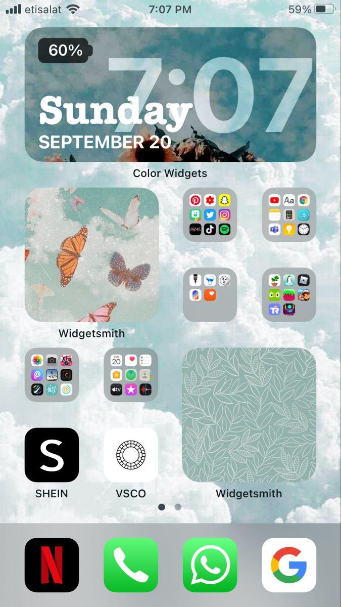 iOS 21 layout iPhone aesthetic   Ios app iphone, Iphone app layout ...