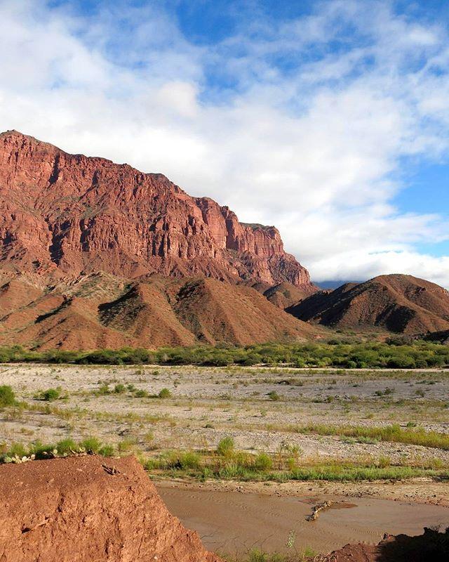 The red-rock canyons of Quebrada de Cafayate