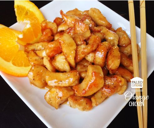 Delicious and Easy Paleo Orange Chicken, the whole family will love it!!! - paleocupboard.com