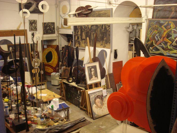 ENRICO ACCATINO artist 1920-2007 Atelier