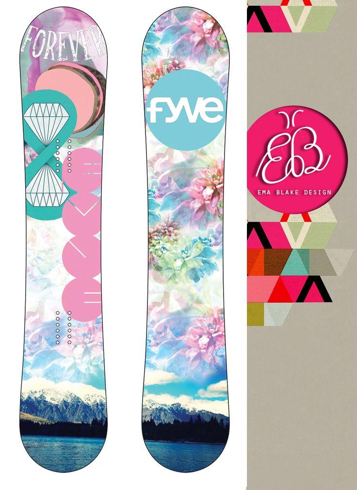 FVYE | Snow Board Design