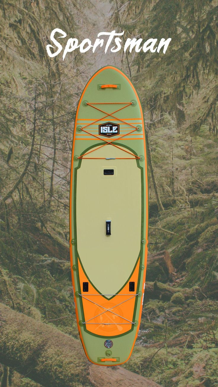 The true outdoorsman's standup paddle board, incorporating each of the technical design aspects of the sportsman epoxy hard board – without the weight.