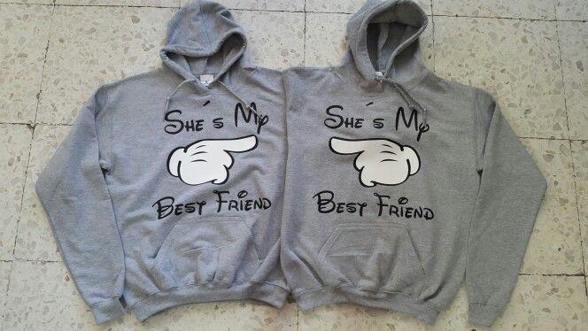Playeras mejores amigas