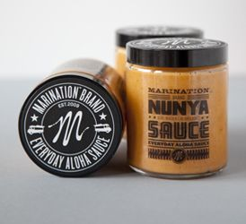 Nunya Sauce from the Marination Food Truck Seattle