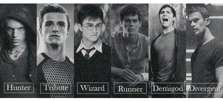 Fandoms • Hunger Games • Harry Potter • The Maze Runner • Percy Jackson • Divergent