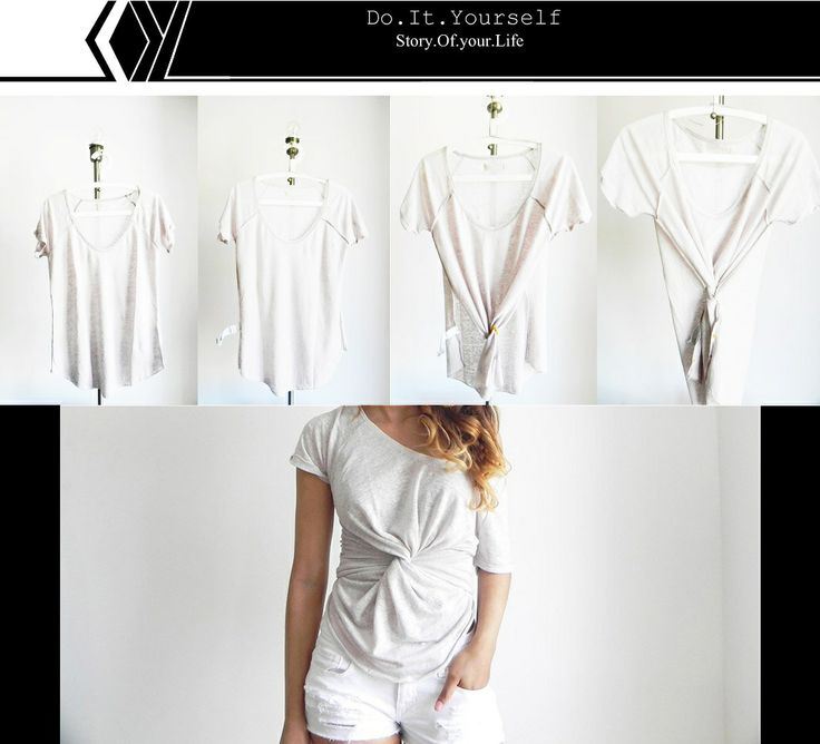 Twist & Twirl Tee// Twist Front ShirtFront Shirts, Tees Shirts, Diy Twists, Diy Tees, Diy Clothing, Bohemian Diy, Soyl Story'S Of Your Lif, Diy Projects, Twists Front