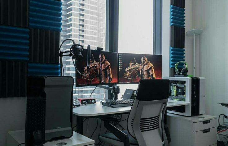 Best 25 Computer Setup Ideas On Pinterest Gaming Desk Gaming Setup And Pc Gaming Setup