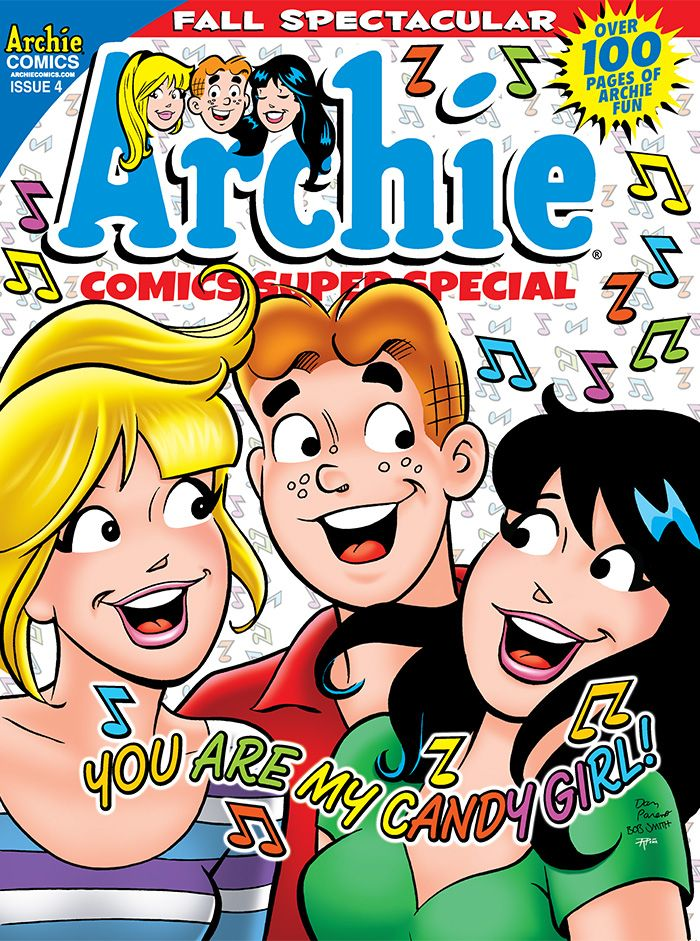 ON SALE TODAY: Here's a special treat for you (a SUPER special treat, that is!): ARCHIE COMICS SUPER SPECIAL MAGAZINE #4 is filled with all the behind the scenes news, comics, fashion pages and fall fun you can handle--and then some! Pick one up at your local comic shop today! www.comicshoplocator.com
