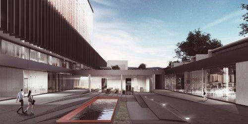 1. Mansiyon - Efeler Belediyesi Hizmet Binası Mimari Proje Yarışması - kolokyum.com