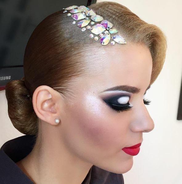 762 Best Dancesport Hair Images On Pinterest