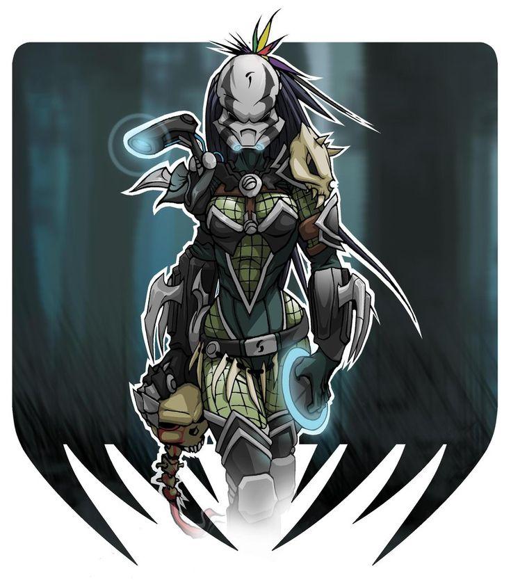 2695 Predator Girl by Spoon02.deviantart.com on @DeviantArt