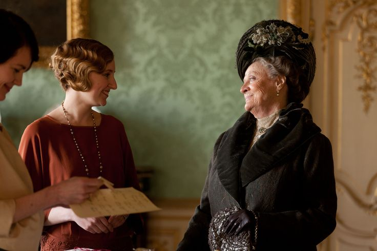 "The Wit And Wisdom Of Dowager Countess: "" Every woman goes down the aisle with half the story hidden"""