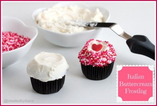 """Italian Buttercream Frosting. """"I LOVE this frosting! It's so wonderfully rich and creamy."""""""