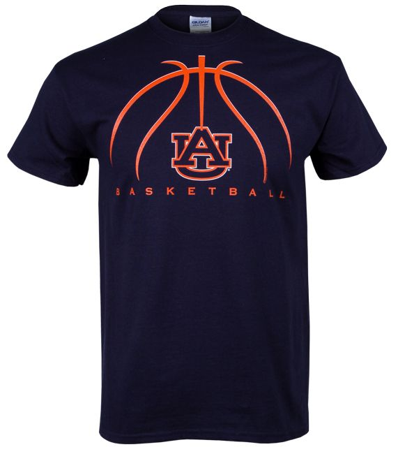 Auburn Basketball 2012 Adult T-Shirt - Navy