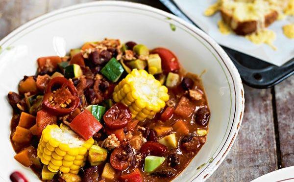 Opskrift på Chili con carne med kylling