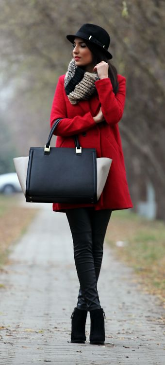 THE RED COAT Style and Blog
