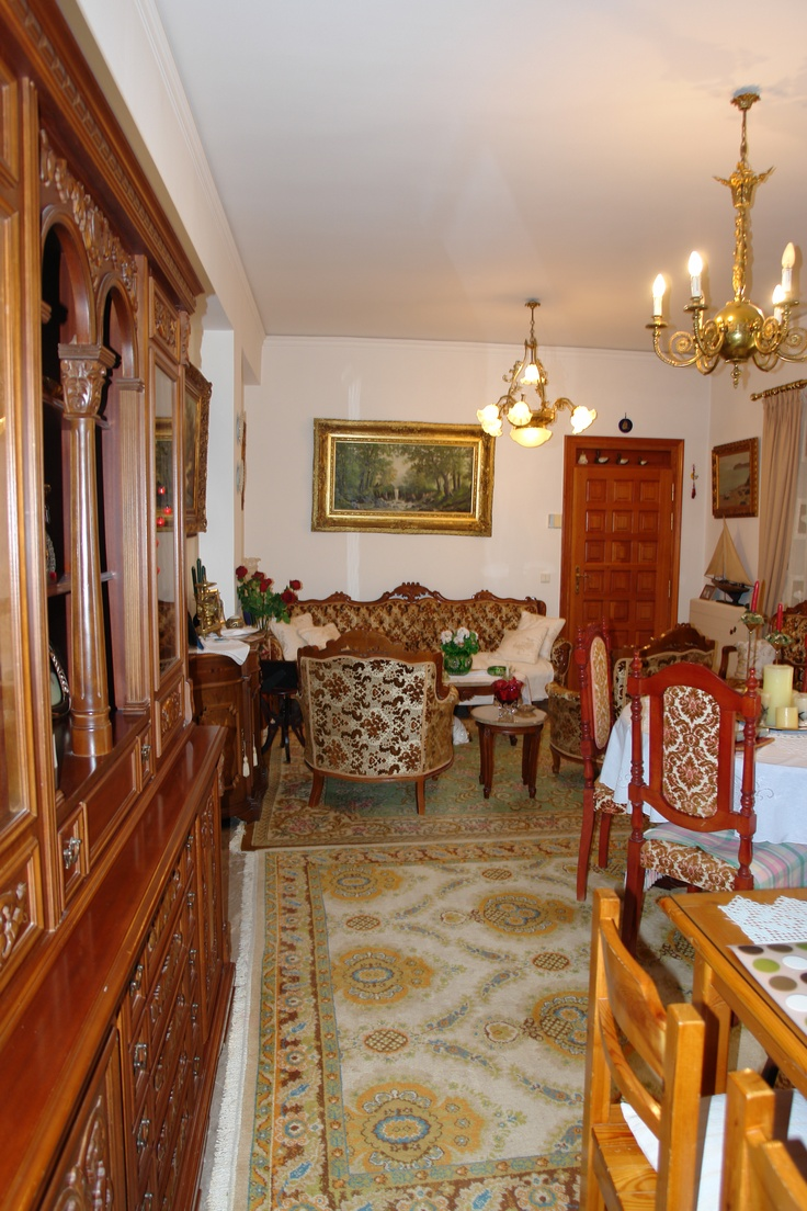 view of dining & sitting room