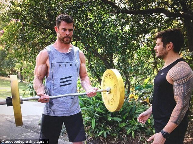 Regime: The fitness fanatic told KIIS101.1's Matt & Meshel the hunky star even upped his w...