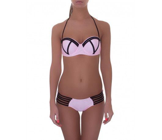 2017 New Bikinis Women Swimsuit Push Up Bikini Set Bathing Suit Patchwork Color Buiqini Summer Beach Wear Plus Size Swimwear XL