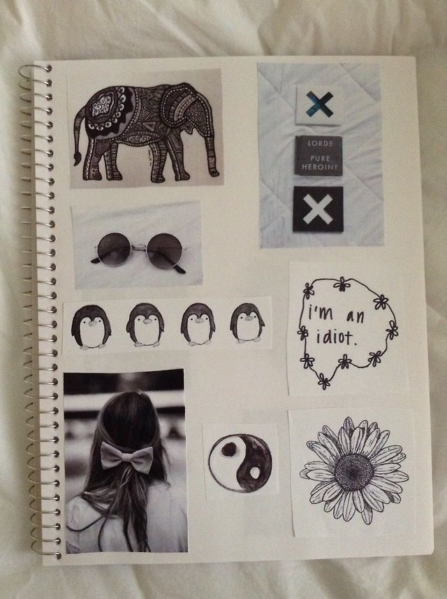 Diy Book Cover Collage : Best ideas images on pinterest notebook
