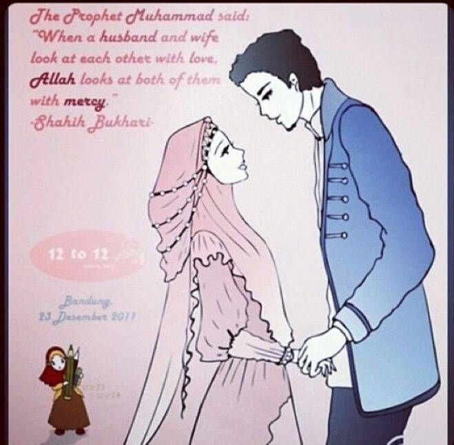 Romantic Islamic Couples Cartoons Quotes Ville Du Muy