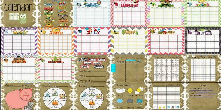 Kindergarten Calendar For Promethean Board : Images about promethean board on pinterest