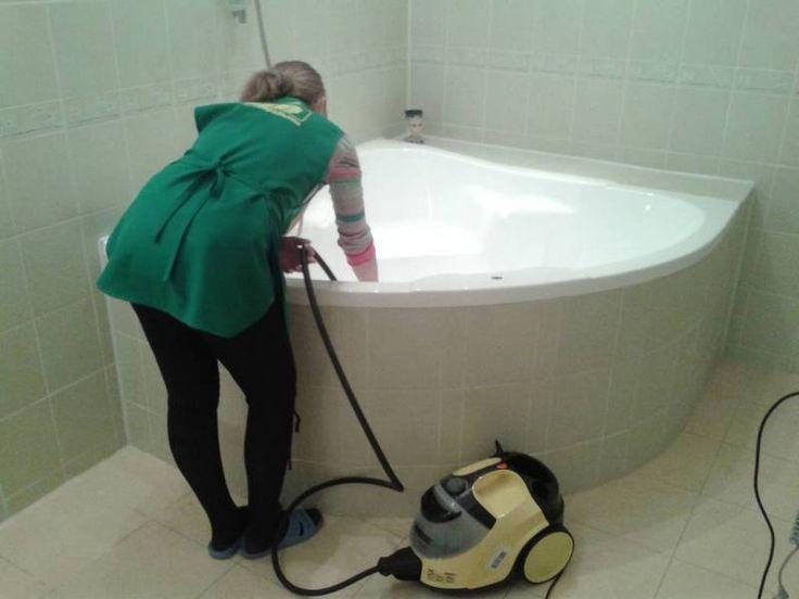 Уборка ванной комнаты в Харькове