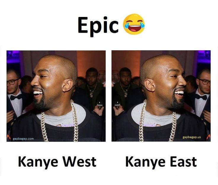 Funny Memes About Kenye West vs. Kanye East