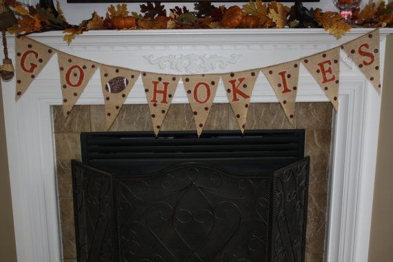 Hey, I found this really awesome Etsy listing at http://www.etsy.com/listing/166818350/virginia-tech-vt-hokies-game-day-banner