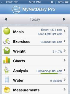Trying this one out (free version)  My Food Diary - 10 Best Apps for Food Journaling - Redbook