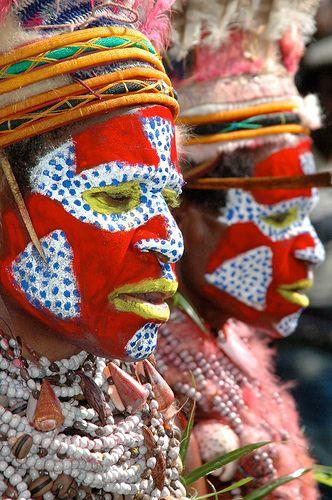 Papua New Guinea, makeup, mu, facepaint, face paint, kryolan, aquacolor, body paint, bodypainting, bodypaint, body painting, tribe, tribal, indigenous
