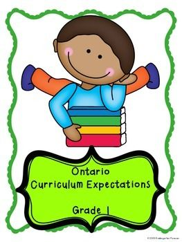 This is a complete set of curriculum expectations for the Ontario Grade 1 program.Its time to make your report cards easier!This checklist will help you to keep a continuous record of the accomplishments of your class.  It will also keep you on track to make sure you have hit all areas of curriculum.Each expectation of the Grade 1 Curriculum is here for you.