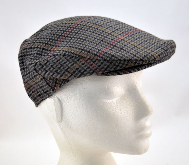 Mens Ladies Wool Tweed Failsworth Country Club Flat Cap in-Lined Clearance 55cm