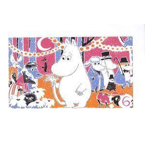 Image of Moomin print No.6   £9.90 http://www.zandersandsons.co.uk/product/moomin-print-no-6