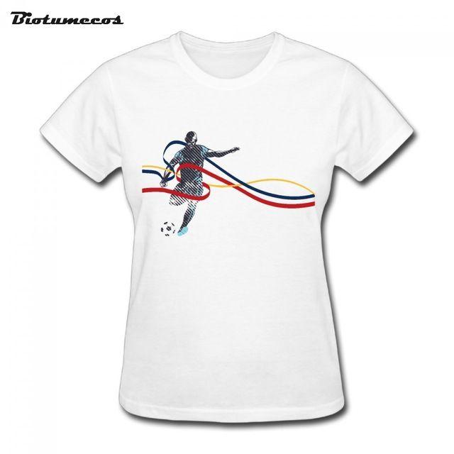 $11.58 Women T Shirts Short Sleeve 100% Cotton Man Play Game Three Coloured Ribbon Printed T-shirt Brand Clothing Funny Top Tees WTY130