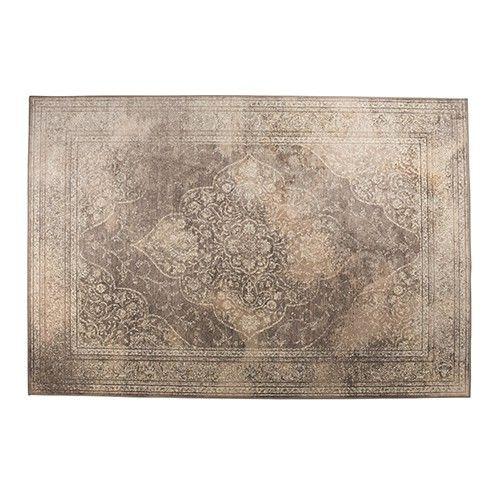 Voor dit laag polige tapijt kozen we een traditioneel patroon maar gebruikten hyper moderne technieken om een verrassend zacht en comfortabel kleed te maken.   Materiaal: 66% viscose, 25% katoen, 9% polyester
