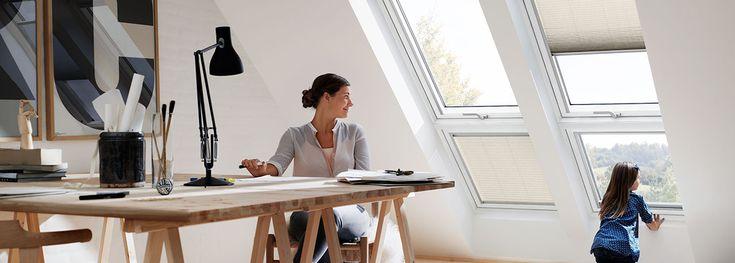 Ajoutez un élément vitré fixe ou du façade à votre fenêtre de toit VELUX.