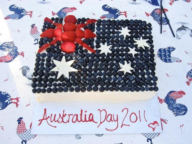 Australia Day flag cake IMG_6275.JPG by mylittlemod, via Flickr